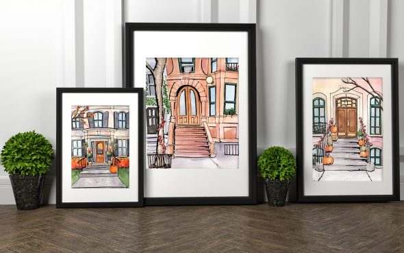 Design by Streetlight Doorway Prints