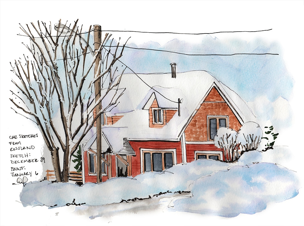 winter houses in rossland bc